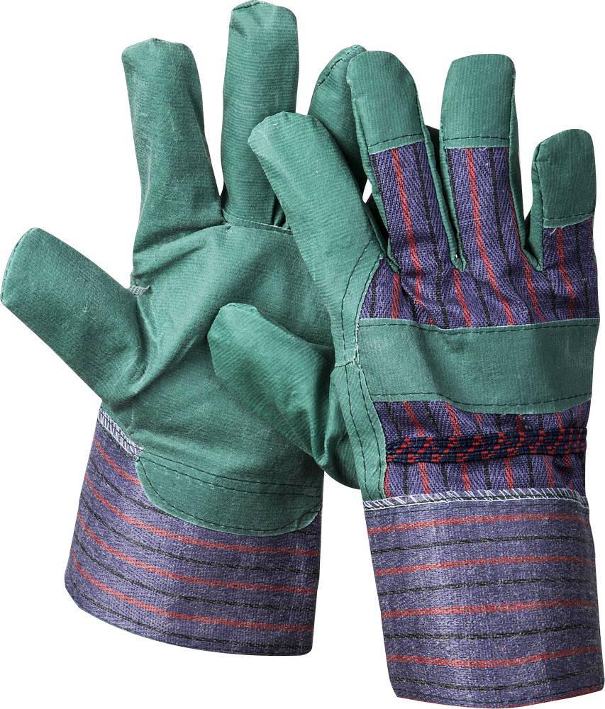 """(1132-XL) Перчатки STAYER """"MASTER"""" рабочие, искусственная кожа, зеленые, XL"""