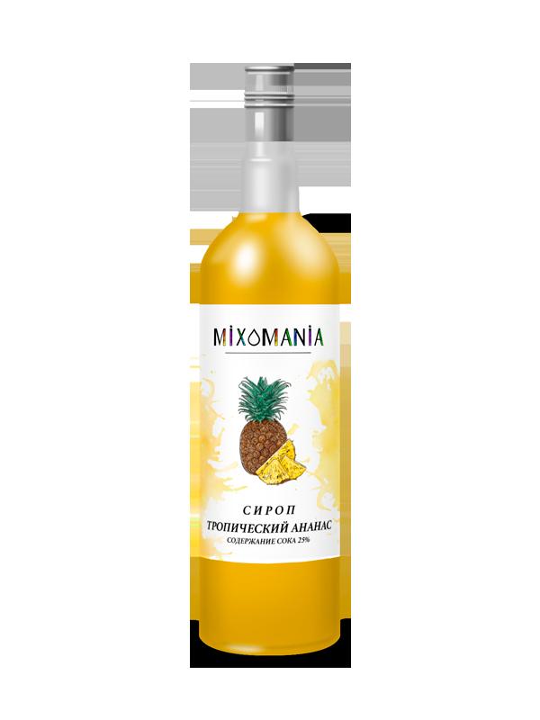Фруктовый сироп с соком «Тропический Ананас»