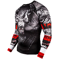 Рашгард Venum Werewolf Rashguard Long Sleeves Black, фото 1