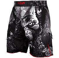 Шорты для MMA Venum Werewolf Fightshorts Black, фото 1