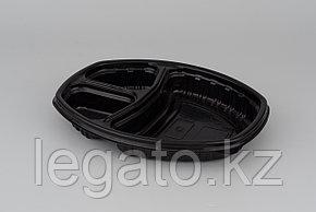 Контейнер Ланч-бокс СпК-257-3 257*202*37мм черный