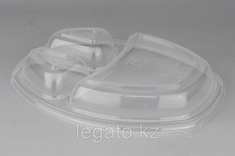 Крышка к Ланч-боксу СпК-257К-3 257*202*35мм прозрачная