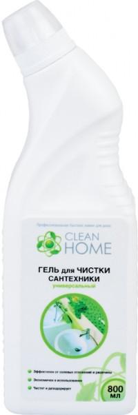 CLEAN HOME Гель для чистки сантехники универсальный