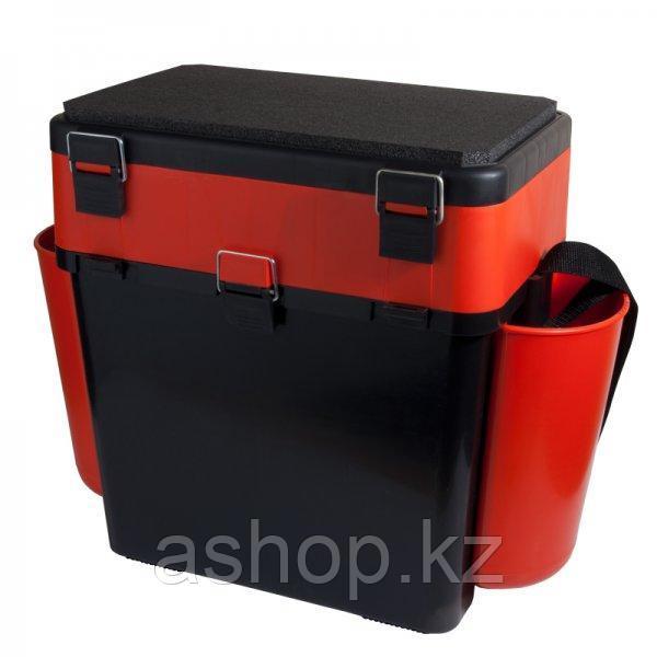 Ящик для замней рыбалки двухсекционный Helios FishBox 19.1, Объем: 19 л, Морозостойкий и ударопрочный ABS-плас