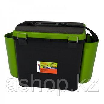 Ящик для замней рыбалки односекционный Helios FishBox 19.2, Объем: 19 л, Морозостойкий и ударопрочный ABS-плас