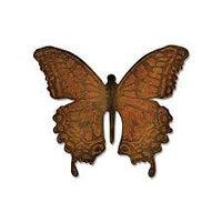 Трафарет для вырубки текстурный - многослойная бабочка от Тима Хольца. Страна происхождения - КНР