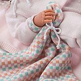LLORENS: Кукла малышка Ника 40 см в теплой шапочке и с варежками 73854, фото 4