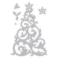 """""""Набор трафаретов для вырубки из 5 предметов - рождественская елка от Джен Лонг Филипсена."""