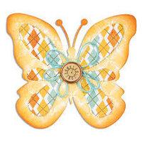 Трафарет для вырубки - бабочка. Страна происхождения - КНР, ТН ВЭД: 82089000