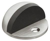 Дверной стопор диаметр 44 мм, нержавеющая сталь, матовый