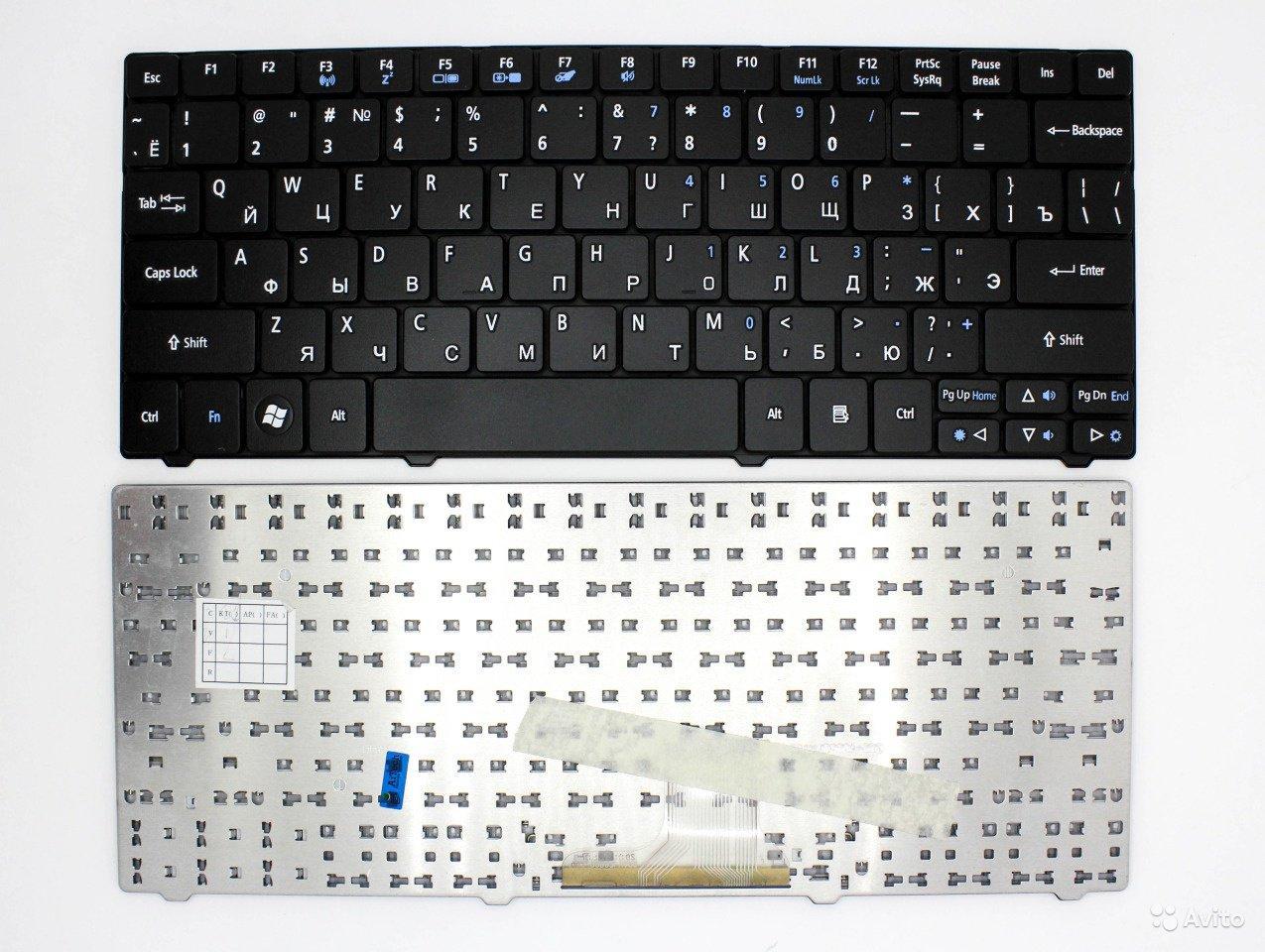 Клавиатура для ноутбука Acer One AS1830T