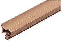 Int.door seal PVC beige 25m