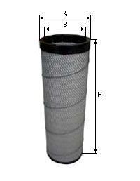 Фильтр воздушный внутр  на / для RENAULT, РЕНО, SAMPIYON CR0066