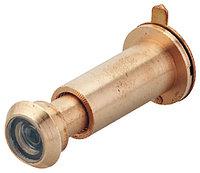 Дверной глазок, 170°, бронза, 12 мм