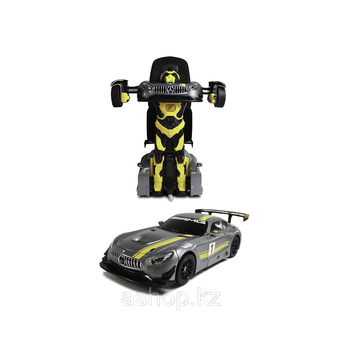 Игрушка трансформер Rastar Mercedes-Benz GT3, Управление: Пульт дистанционного управления - 2,4ГГц, Трансформа - фото 3