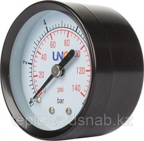 Манометр диаметр 50мм 0-10 bar, осевое соединение