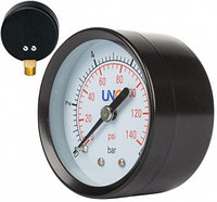 Манометр диаметр 50мм 0-10 bar, боковое соединение