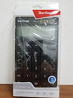 """Калькулятор настольный Berlingo """"Power TX"""", 12 разр., двойное питание, 165*105*13мм, антрацит, фото 2"""