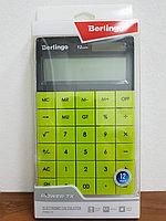 """Калькулятор настольный Berlingo """"Power TX"""", 12 разр., двойное питание, 165*105*13мм, зеленый, фото 2"""
