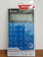 """Калькулятор настольный Berlingo """"Power TX"""", 12 разр., двойное питание, 165*105*13мм, синий, фото 2"""