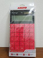 """Калькулятор настольный Berlingo """"Power TX"""", 12 разр.,165*105*13 мм, тёмно-розовый, фото 2"""