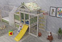 Игровой комплекс - кровать Савушка Baby-3