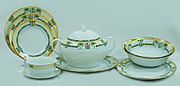 Сервиз столовый 6 персон 25 предметов SAPHYR 26208 (Thun, Чехия)