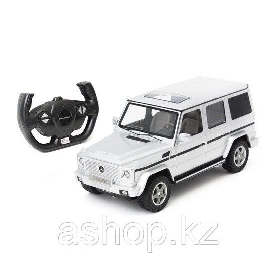 Радиоуправляемая модель автомобиль Rastar Mercedes-Benz G55 AMG, 1:14, Управление: Джойстик, Материал: Пластик