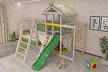 Двухуровневый игровой комплекс-кровать Савушка Baby-4