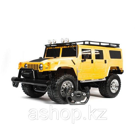 Радиоуправляемая модель автомобиль Rastar Hummer H1 SUV, 1:6, Управление: Джойстик, Материал: Пластик, Цвет: Ж