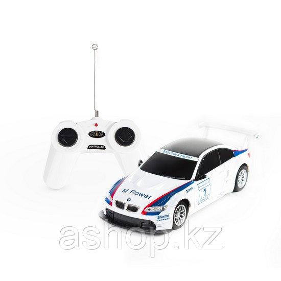 Радиоуправляемая модель автомобиль Rastar BMW M3, 1:24, Управление: Джойстик, Материал: Пластик, Цвет: Белый,