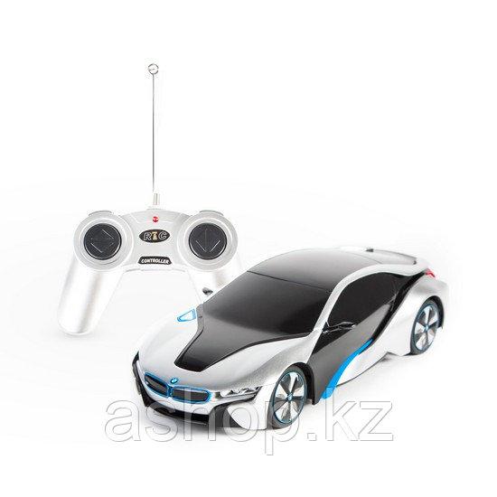 Радиоуправляемая модель автомобиль Rastar BMW I8, 1:24, Управление: Джойстик, Материал: Пластик, Цвет: Серебри