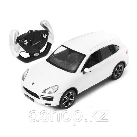 Радиоуправляемая модель автомобиль Rastar Porsche Cayenne Turbo, 1:14, Управление: Джойстик, Материал: Пластик