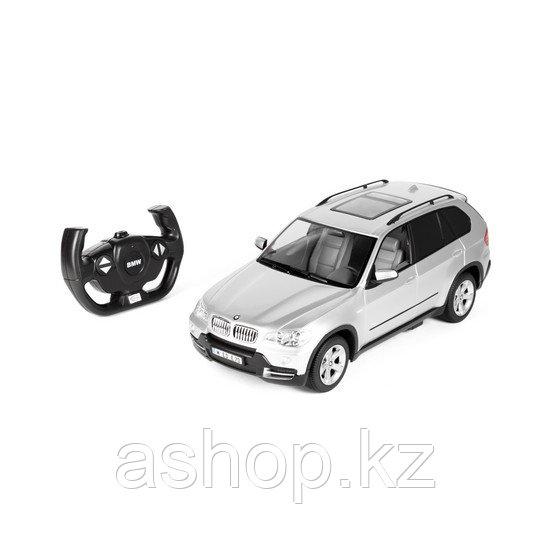 Радиоуправляемая модель автомобиль Rastar BMW X5, 1:14, Управление: Джойстик, Материал: Пластик, Цвет: Серебри