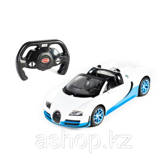 Радиоуправляемая модель автомобиль Rastar Bugatti Grand Sport Vitesse, 1:14, Управление: Джойстик, Материал: П