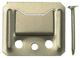 Крепеж для стеновых панелей и вагонки №1, 100шт