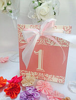 Номерки на свадебные столы, фото 1