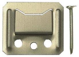 Крепеж для стеновых панелей и вагонки №6, 100шт