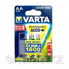Аккумулятор VARTA POWER Ready 2 Use (предзаряженный) AA, 1.2 В, 2400 мАч, NiMH BL2