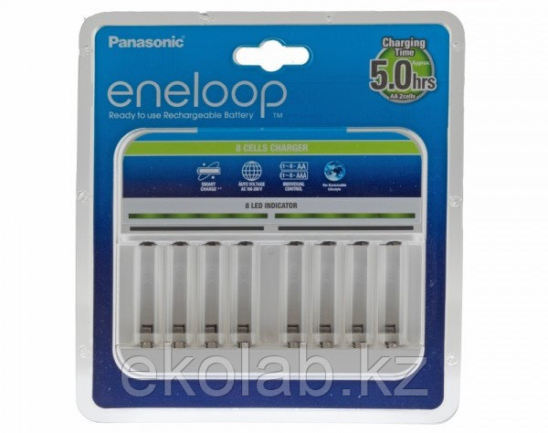Зарядное устройство Panasonic eneloop BQ-CC63E 8 Cells Charger BL1