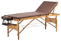 Yamaguchi Массажный стол Vancouver Бамбуковый стол со съемным намотрасником