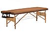 Yamaguchi Массажный стол Vancouver Бамбуковый стол со съемным намотрасником, фото 2