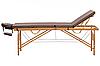 Yamaguchi Массажный стол Vancouver Бамбуковый стол со съемным намотрасником, фото 3