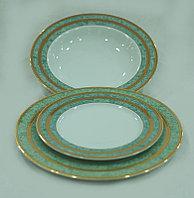 Набор тарелок 6 персон 18 предм Opal (Thun, Чехия)