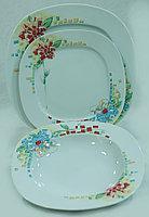 Набор тарелок 6 персон 18 предм Leon (Thun, Чехия)