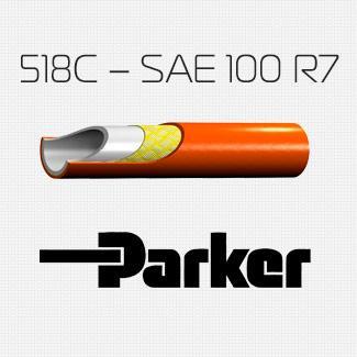 Токонепроводящий Рукав 518C – SAE 100 R7 - фитинги обжимного типа