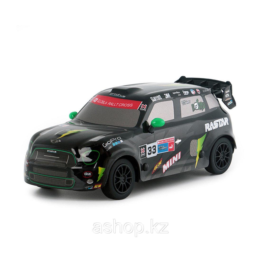 Радиоуправляемая модель автомобиль Rastar Mini Countryman JCW RX, 1:24, Управление: Джойстик, Материал: Пласти