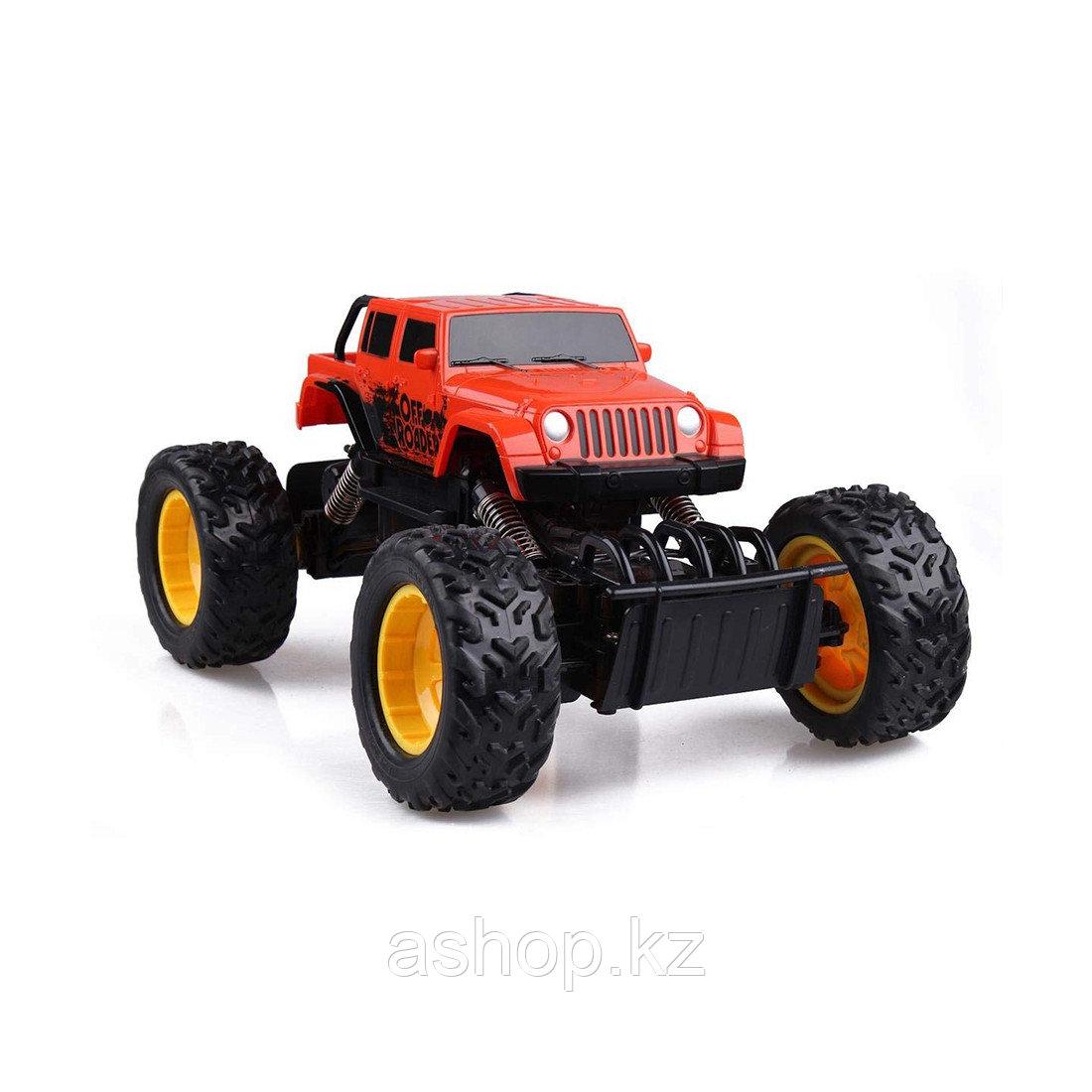 Радиоуправляемая модель автомобиль Rastar OFF-ROADER Rock Crawler, 1:18, Управление: Джойстик, Материал: Пласт