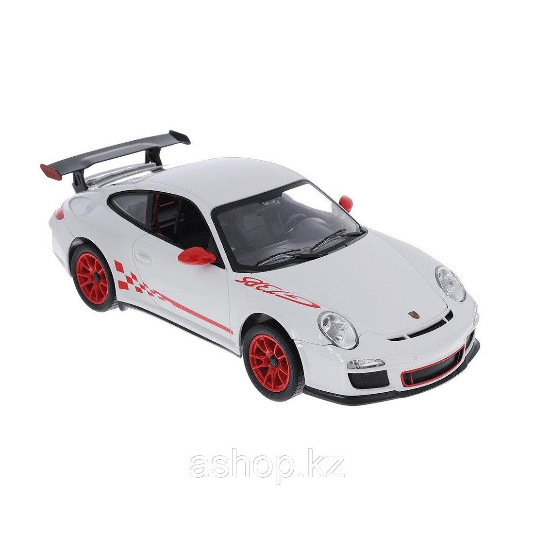 Радиоуправляемая модель автомобиль Rastar Porsche GT3, 1:14, Управление: Джойстик, Материал: Пластик, Цвет: Бе
