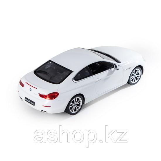 Радиоуправляемая модель автомобиль Rastar BMW 6 Series, 1:14, Управление: Джойстик, Материал: Пластик, Цвет: Б